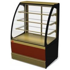 Витрина холодильная Veneto VS-1,3, крашенная