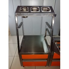 Прилавок для столовых приборов и разносов ПСПРТ