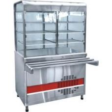Прилавок холодильный ПВВ(Н) - 70КМ - С - НШ  плоский стол