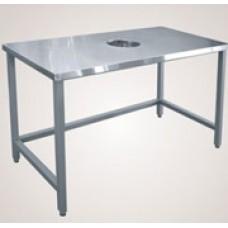 Стол для сбора остатков пищи СО - 1 (без ножек)
