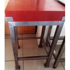 Стол колода для рубки мяса КРНТ 500 с доской