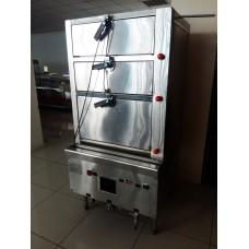 Шкаф пекарский газовый (пароварка) 3-х-секционный б/у