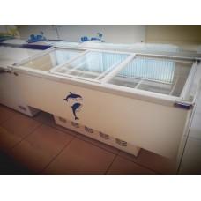 Ларь морозильный KONOV SC/SD-670 Y(стекло)
