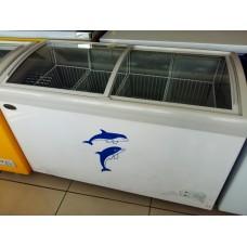 Ларь морозильный KONOV  SC/SD-338Y (овальное стекло)