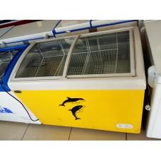 Ларь морозильный KONOV  SC/SD-268Y (овальное стекло)